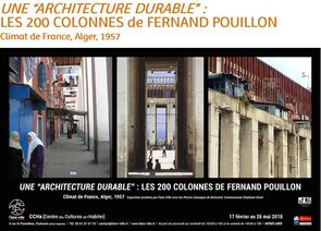 Pouillon une architecture durable